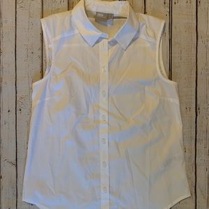 ASOS NWOT Sleeveless Button Down Blouse Size 4